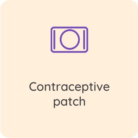 Contraception - patch