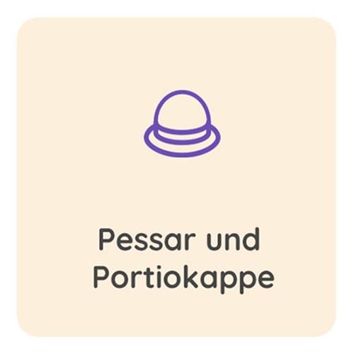 Pessar-und-Portiokappe